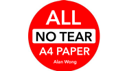 "No Tear Pad (Extra Large, 8.5 X 11.5 "") ALL No Tear by Alan Wong - Trick"